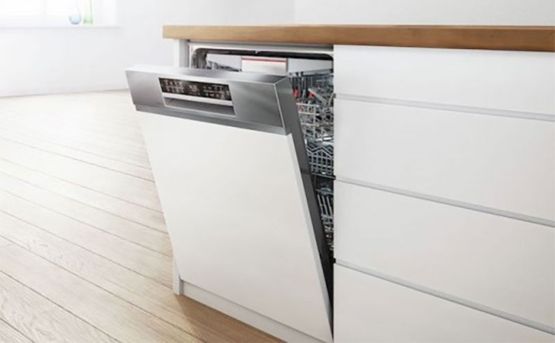 Máy Rửa Bát Bosch Smi88Us36E Series 8 Thiết Kế Dạng Âm Tủ, Nhiều Công Nghệ Hiện Đại