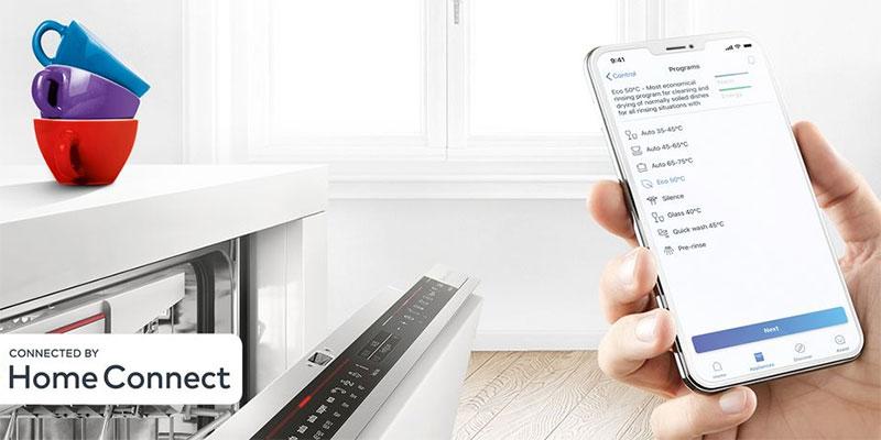 Kết Nối Với Máy Rửa Bát Qua Ứng Dụng Home Connect Trên Điện Thoại Của Bạn