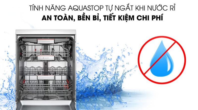 Máy Rửa Chén Bát Bosch Smi88Us36E - Aqua Stop Tự Ngắt Khi Nước Rỉ Giúp Tiết Kiệm Nước Và Tăng Tuổi Thọ Cho Máy Rửa Bát