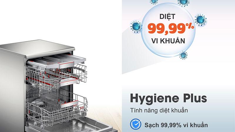 Máy Rửa Chén Bát Bosch Sms8Yci01E Serie 8 - Hygiene Plus Diệt Khuẩn