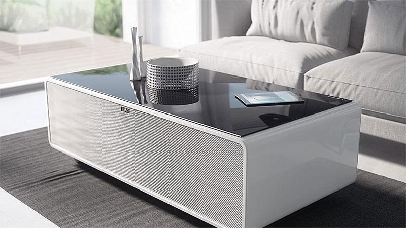 Bàn Caso Sound &Amp; Cool Tích Hợp Dàn Âm Thanh Và Tủ Mát