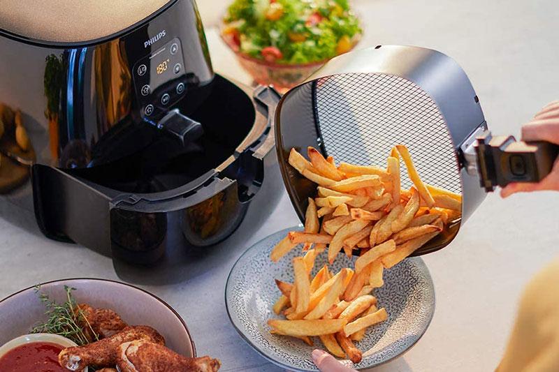 Nồi Chiên Không Dầu Philips Hd9260/90 Air Fryer Xl Mở Ra Một Thế Giới Khả Năng Chiên, Nướng, Rang, Hâm Nóng