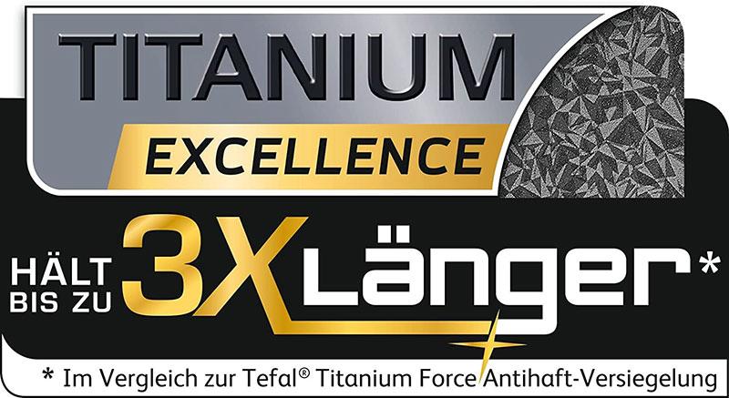 Chảo Chống Dính Tefal Talent Pro E44002 Black 20Cm Trang Bị Lớp Chống Dính Tefal Titanium Excellence