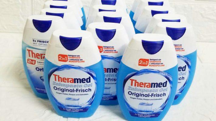Kem Đánh Răng Theramed 2In1 Original Frisch 75Ml - Bảo Vệ Răng Chắc Khỏe Và Hơi Thở Thơm Mát