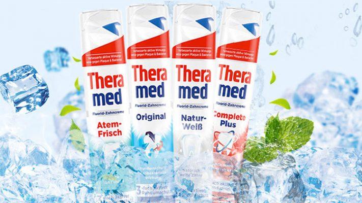 Kem Đánh Răng Theramed Atem Frisch 100Ml - Bảo Vệ Răng Miệng, Mang Đến Hơi Thở Thơm Mát