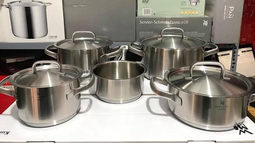 Bộ Nồi 5 Món Wmf Gourmet PlusRa Đời Đã Giúp Người Nội Trợ An Tâm Hơn Khi Nấu Nướng