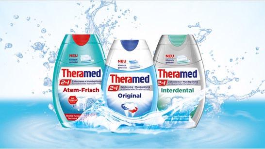 Kem Đánh Răng Theramed 2In1 Atem Frisch 75Ml - Bảo Vệ Hơi Thở Khỏi Mùi Hôi Khó Chịu