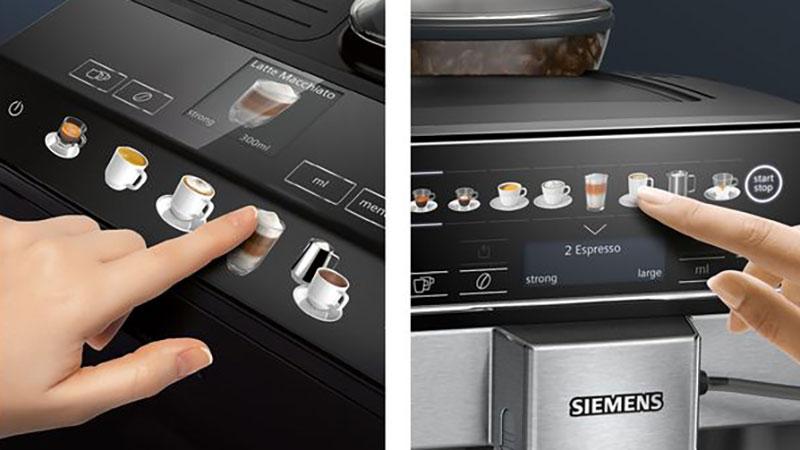 Máy Pha Cà Phê Siemens Eq.500 Tp501D09 Thao Tác Dễ Dàng Và Tất Cả Các Tùy Chọn Trong Nháy Mắt - Nhờ Màn Hình Coffeeselect Có Màu Và Trực Quan