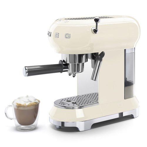 Smeg Ecf01Creu Coffe Machine 011