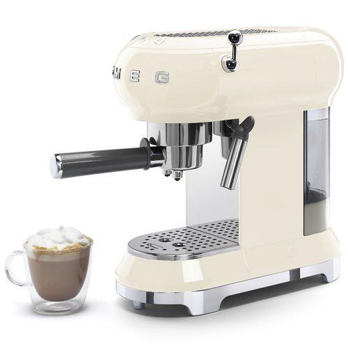 Smeg Ecf01Creu Coffe Machine 012