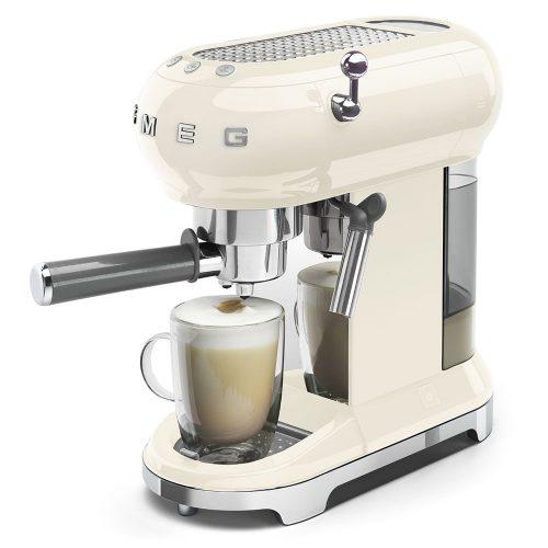 Smeg Ecf01Creu Coffe Machine 04