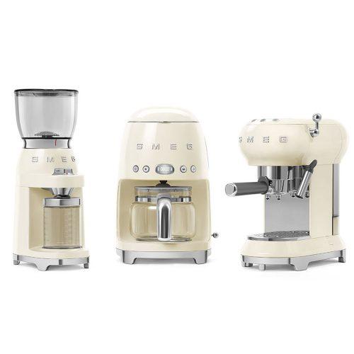 Smeg Ecf01Creu Coffe Machine 05