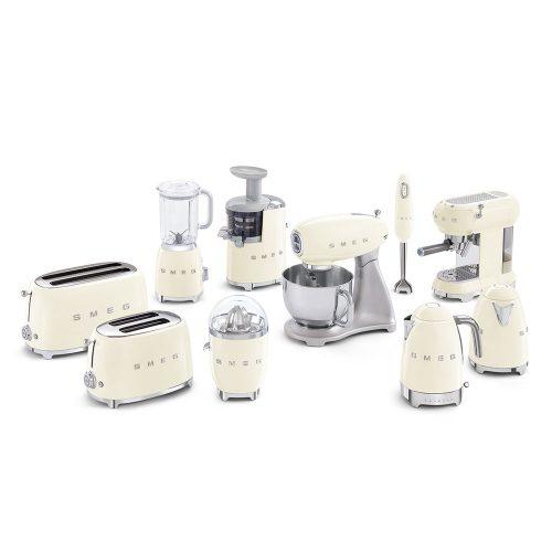 Smeg Ecf01Creu Coffe Machine 06