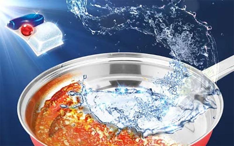 Viên Rửa Chén Finish Quantum Ultimate 51 Viên Để Rửa Chén Thì Hoàn Toàn Yên Tâm Bởi Nó Có Tác Dụng Làm Sáng Bóng Đồ Inox Cực Kỳ Hiệu Quả