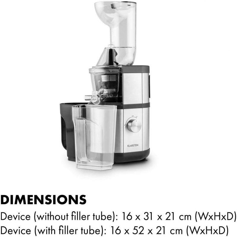Máy Ép Chậm Klarstein Fruitberry Slow Juicer 400W 2