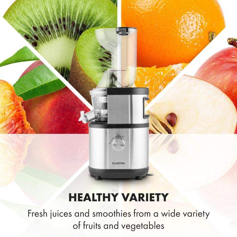 Máy Ép Chậm Klarstein Fruitberry Slow Juicer 400W