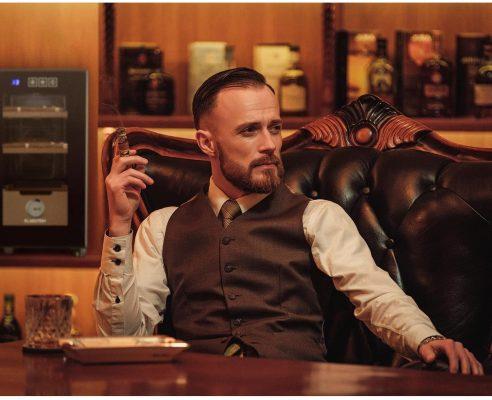 Tủ Đựng Cigar Klarstein El Presidente 23 Humidor 5