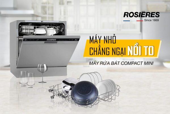 Máy Rửa Chén Bát Rosieres Rdcp8S-04 Compacrt Mini 8 Bộ 1
