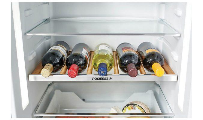 Tủ Lạnh Rosieres Rbbf178T Có Khoang Lạnh Chứa Được Khá Nhiều Thực Phẩm