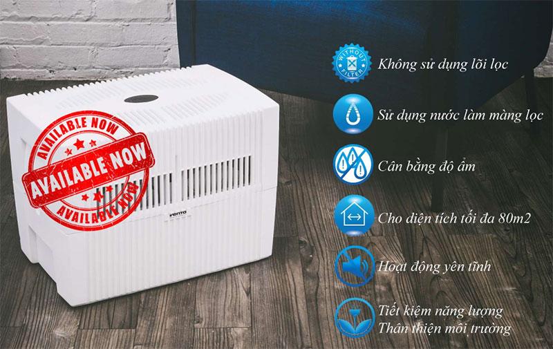 Máy Lọc Không Khí Bù Ẩm Venta Lw45 Comfort Plus - Ảnh 2
