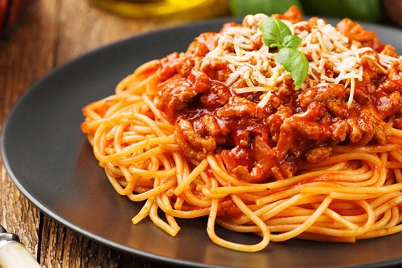 Mì Spaghetti Phong Cách Italia, Đặc Biệt Đủ Dưỡng Chất Cho Cả Ngày Hoạt Động