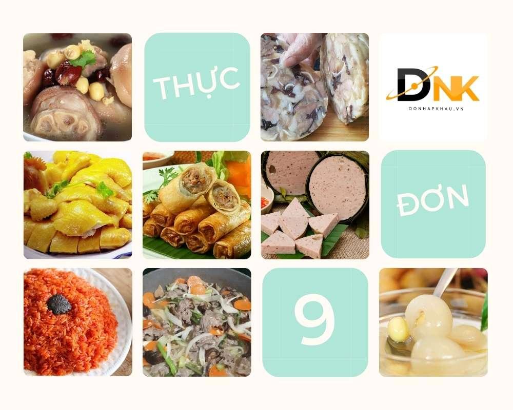 Thực Đơn Ăn Tối Số 9 - Các Món Ăn Ngon Cực Đủ Chất Dinh Dưỡng