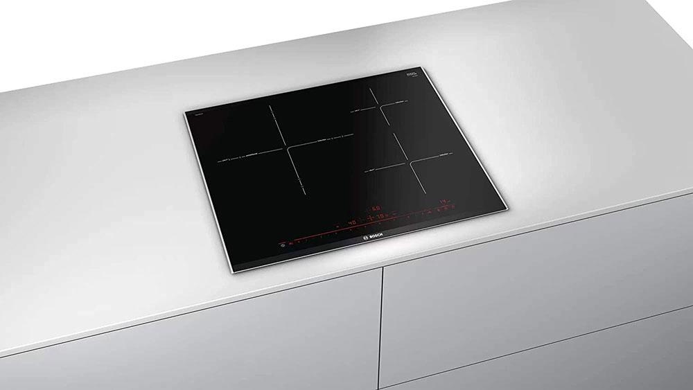 Bếp Từ Bosch Pid675Dc1E 3 Vùng Nấu, Serie 8 - Nấu Nhanh, Sạch Sẽ Và An Toàn
