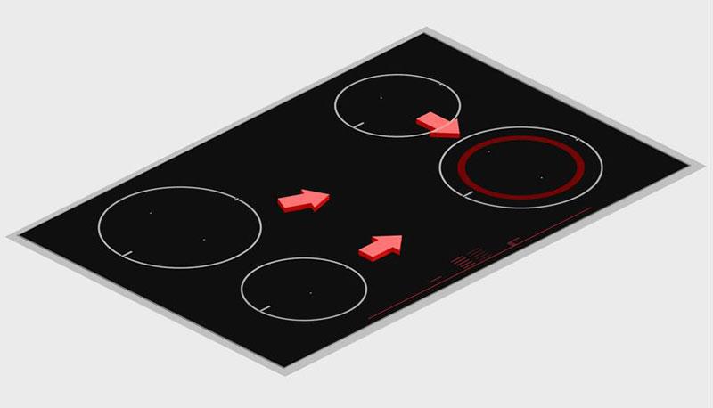 Bếp Từ Bosch Pid775Dc1E 3 Vùng Nấu, Serie 8 - Hình 4