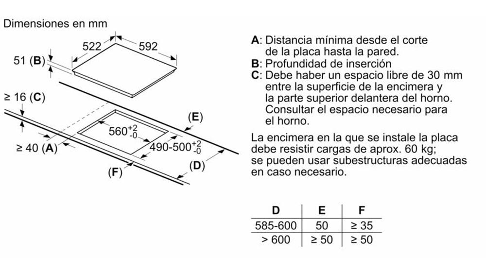 Bếp Từ Bosch Pij651Fc1E 3 Vùng Nấu - Hình 10