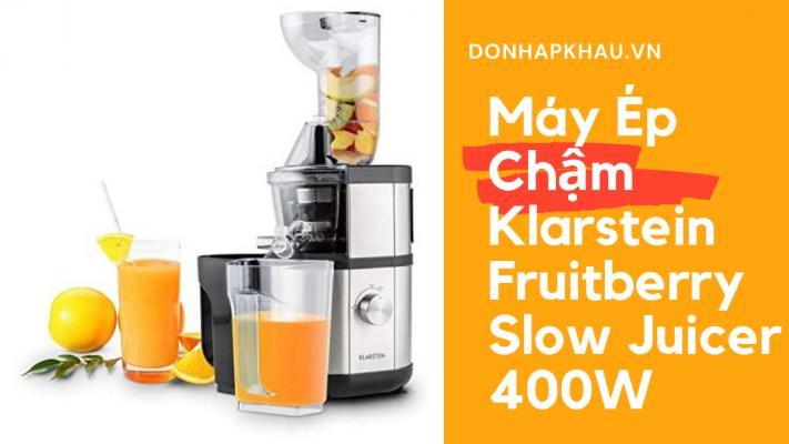 May Ep Cham Klarstein Fruitberry Slow Juicer 400W