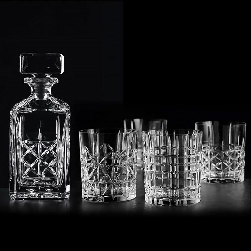 Bộ Bình Rượu Pha Lê Nachtmann 98196 Highland Whisky Decanter And Tumbler, Hình Ảnh 1