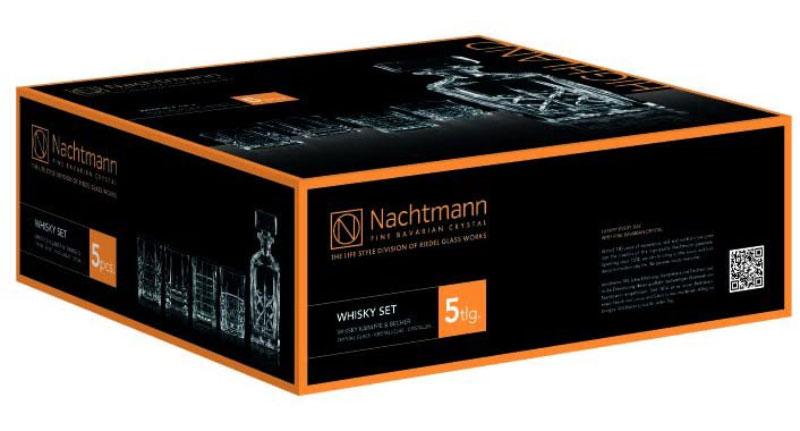 Bộ Bình Rượu Pha Lê Nachtmann 98196 Highland Whisky Decanter And Tumbler, Hình Ảnh 5