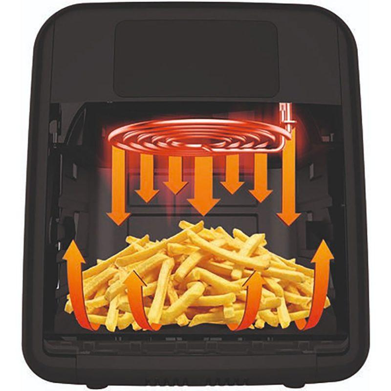 Nồi Chiên Không Dầu Tefal Fw5018 Easy Fry Over &Amp; Grill, Hình Ảnh 6