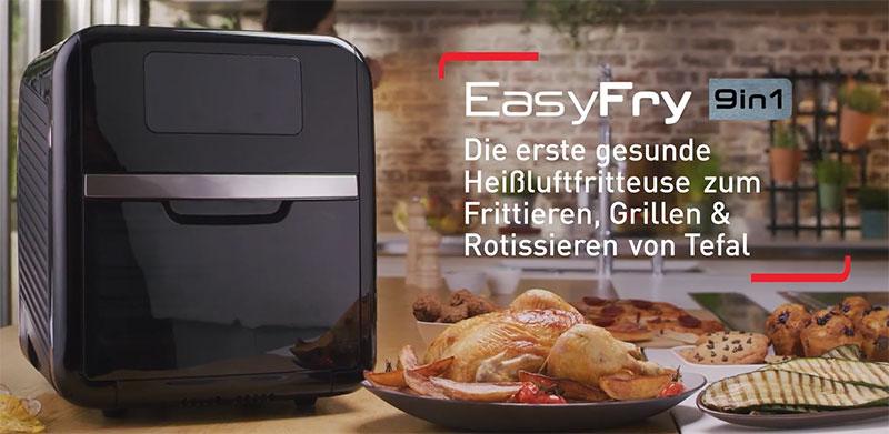 Nồi Chiên Không Dầu Tefal Fw5018 Easy Fry Over &Amp; Grill, Hình Ảnh 4