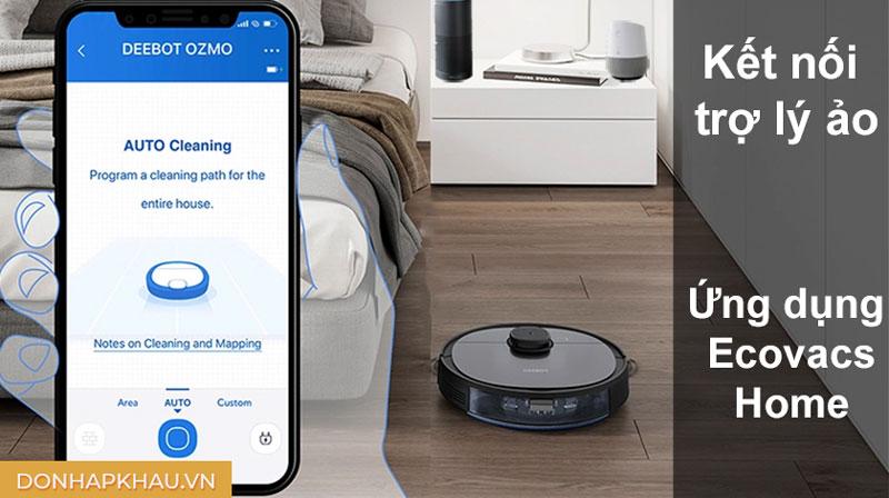 Robot Hút Bụi Ecovacs Deebot Ozmo 950, Hình Ảnh Số 9