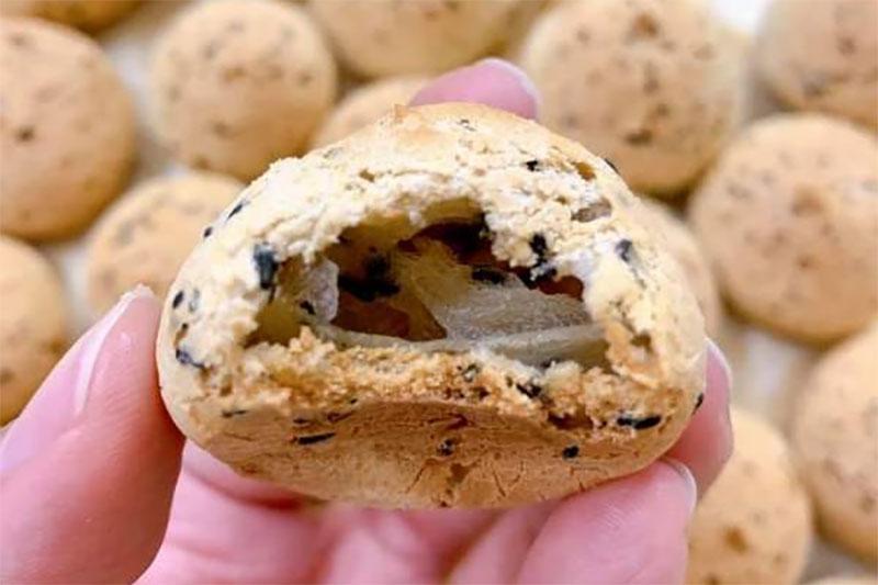 Cách Làm Bánh Mì Mè Đen Hàn Quốc Bằng Nồi Chiên Không Dầu - Hình 2