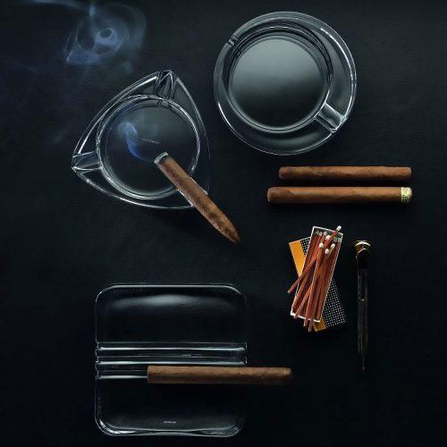 Gat Tan Cigar Nachtmann 52815 Cigar Ashtray Triangular 02