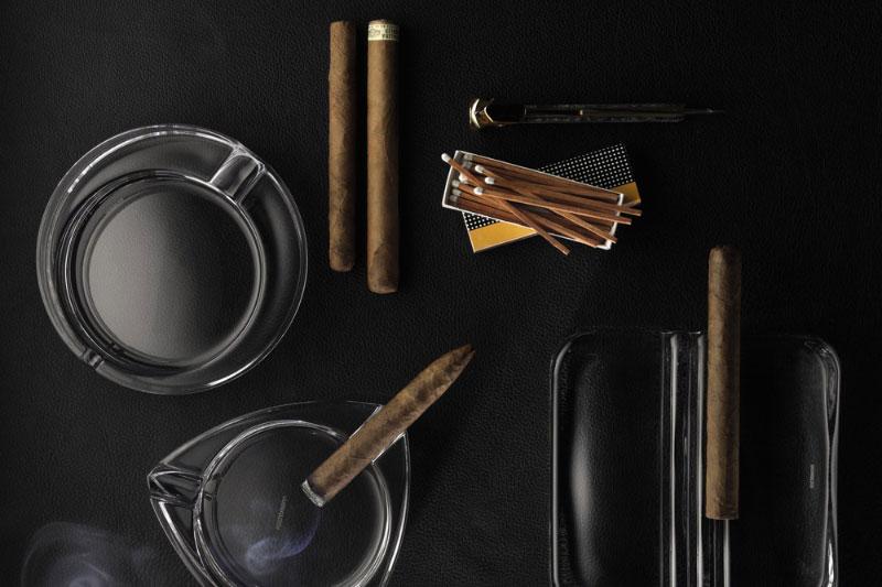 Gạt Tàn Tròn Pha Lê Nachtmann 52814 Cigar Ashtray Round 16Cm, Hình Ảnh 2