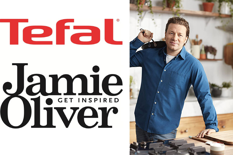 Chảo Tefal Jamie Oliver Hard Anodised Frying Pan 28Cm, Hình Ảnh 3