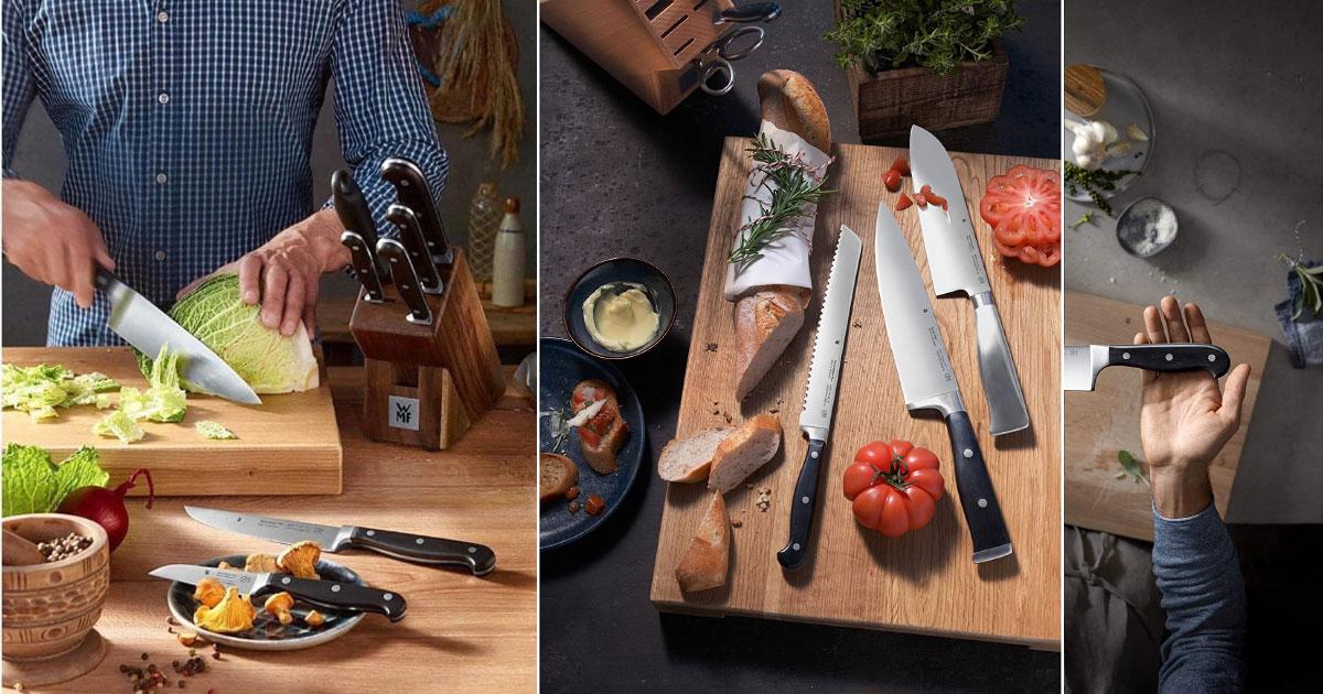 Bộ Dao 3 Món Wmf Spitzenklasse Plus Messer-Set, 3-Teilig 18.9491.9992, Hình Ảnh 1