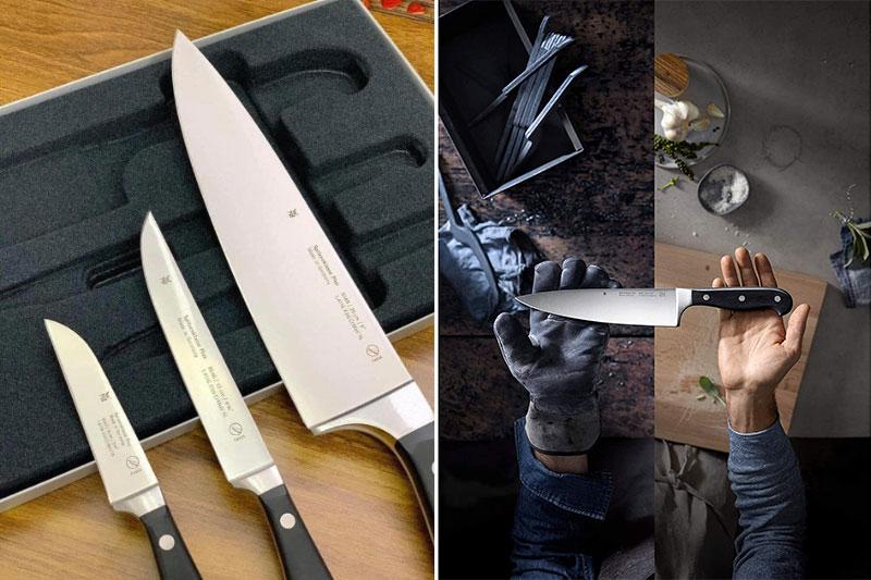 Bộ Dao 3 Món Wmf Spitzenklasse Plus Messer-Set, 3-Teilig 18.9491.9992, Hình Ảnh 2