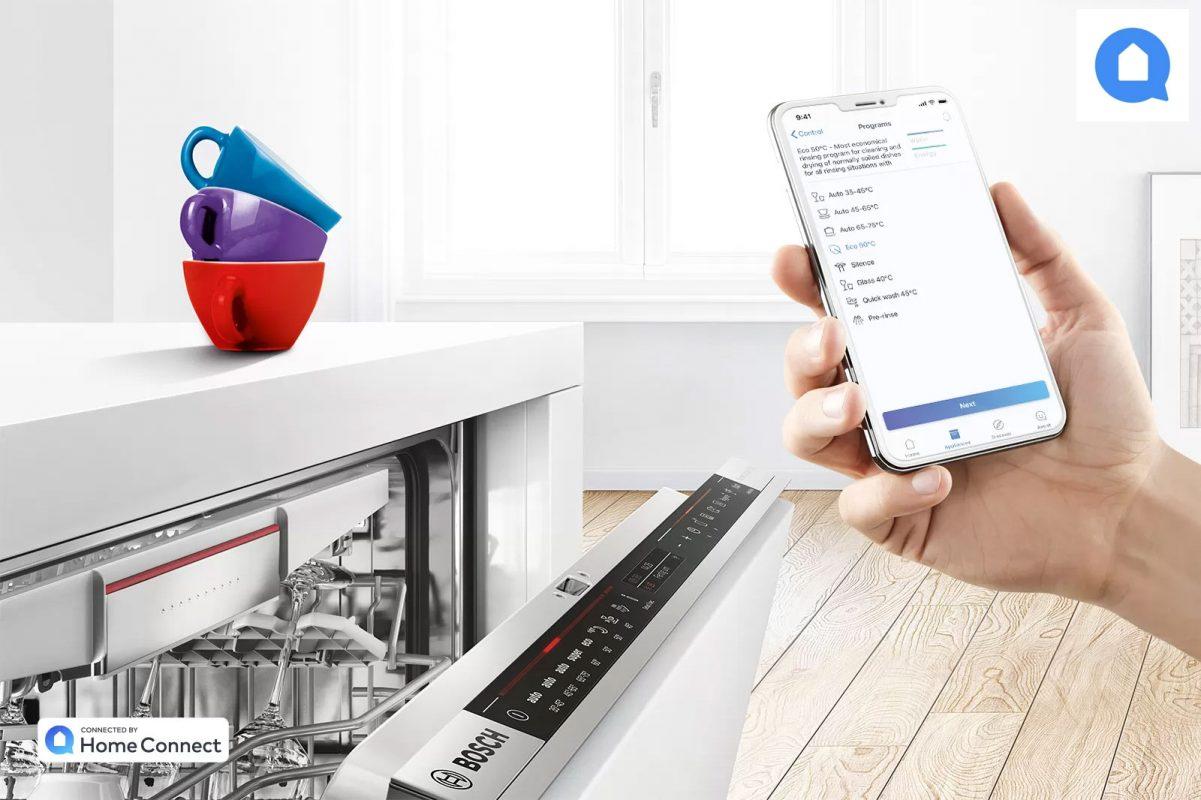 Máy Rửa Bát Bosch Biết Lắng Nghe Bạn Với Ứng Dụng Home Connect