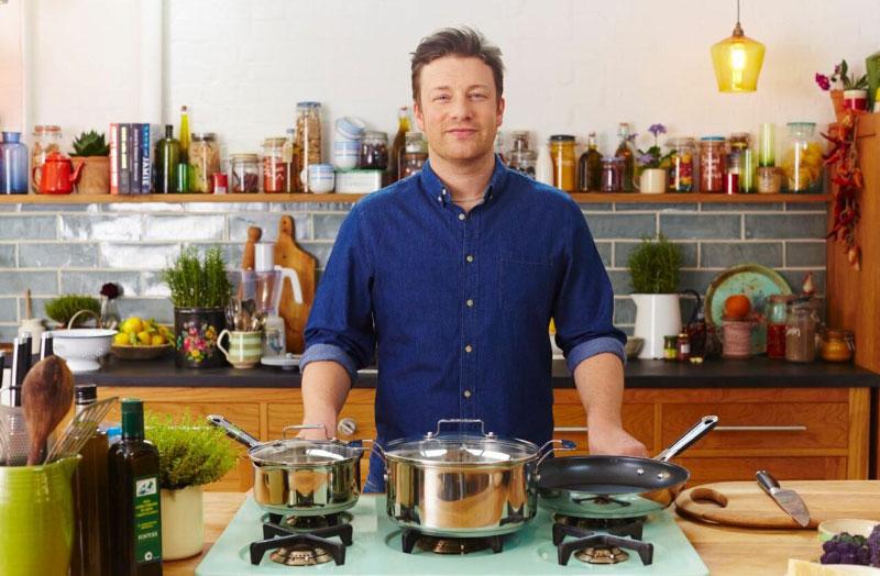Chảo Sâu Lòng Tefal Jamie Oliver 28Cm Professional Series Wok Pfanne, Hình Ảnh 1