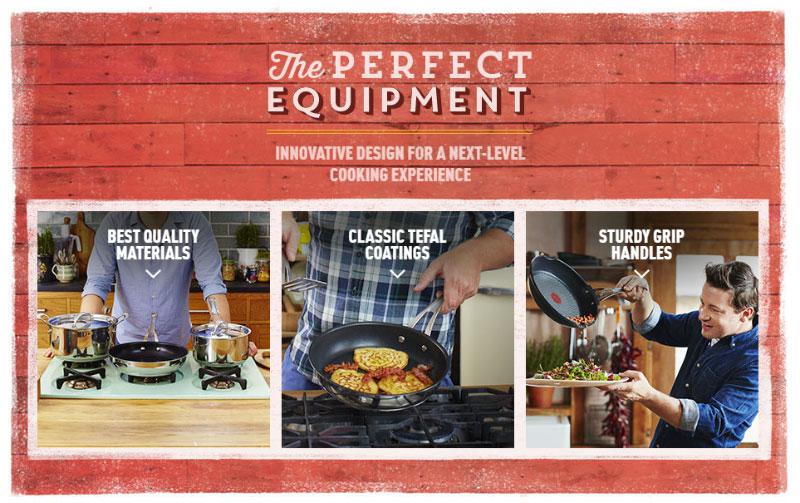 Chảo Sâu Lòng Tefal Jamie Oliver Professional Series Wok Pfanne 28Cm, Hình Ảnh 3