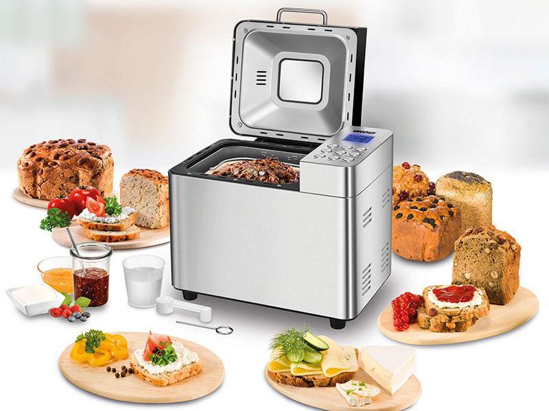 Máy Làm Bánh Mì Unold 68456, Bread Maker 550W, Lcd, Stainless Steel, Hình Ảnh 3