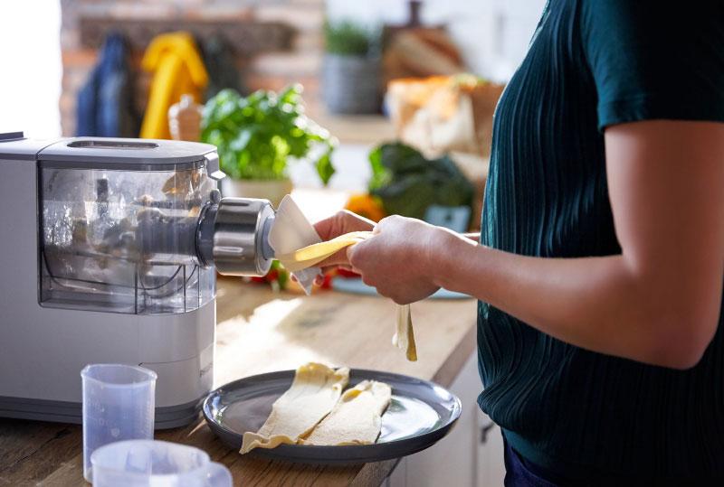 Máy Làm Bún Mì Philips Hr2333/12 Viva Pasta Maker- Hình Ảnh 2