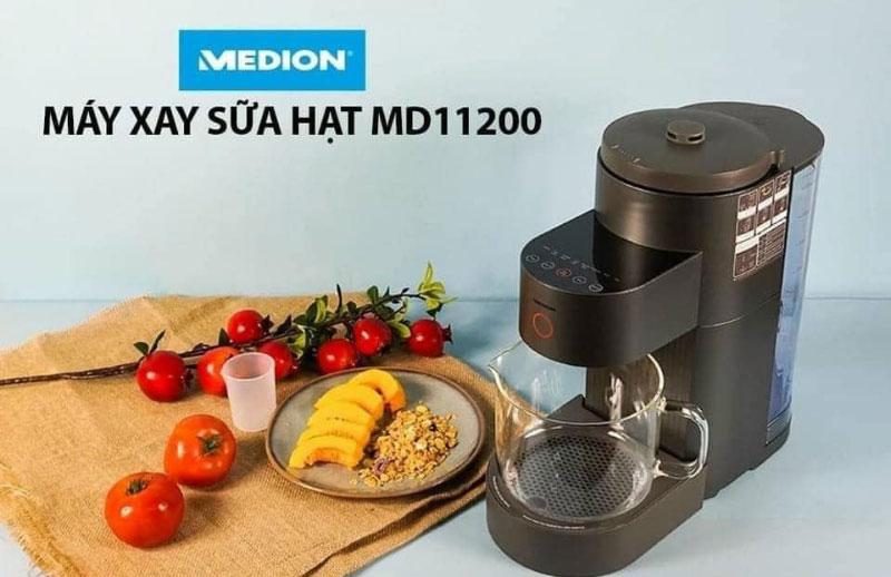 Máy Làm Sữa Hạt Medion Md 11200, 1200W, 8 Chương Trình Tự Động, Model 2021, Hình Ảnh 3
