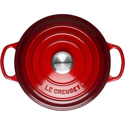 Noi Gang Le Creuset Brater Rund Evo 26Cm Cerise 7