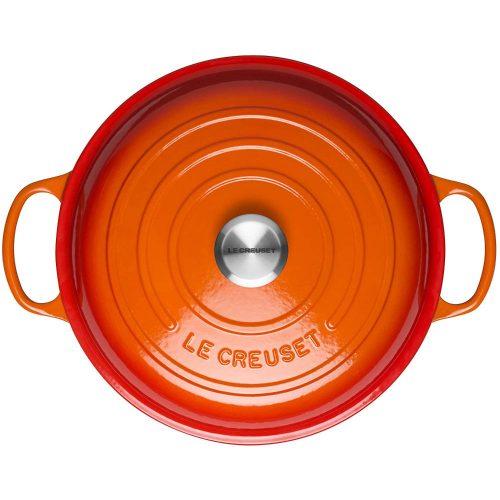 Noi Gang Nong Le Creuset Signature Gourmet Profitopf 30Cm Volcanique Flame 02