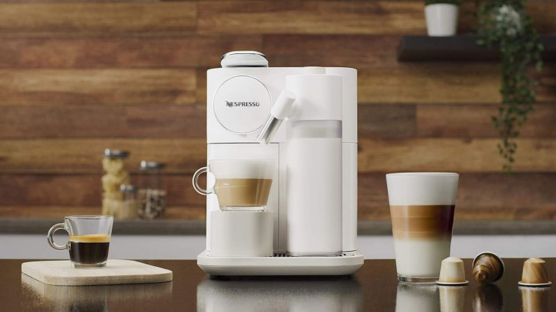 Máy Pha Cà Phê Viên Nén De'Longhi Gran Lattissima Nespresso En650.W, Hình Ảnh 1